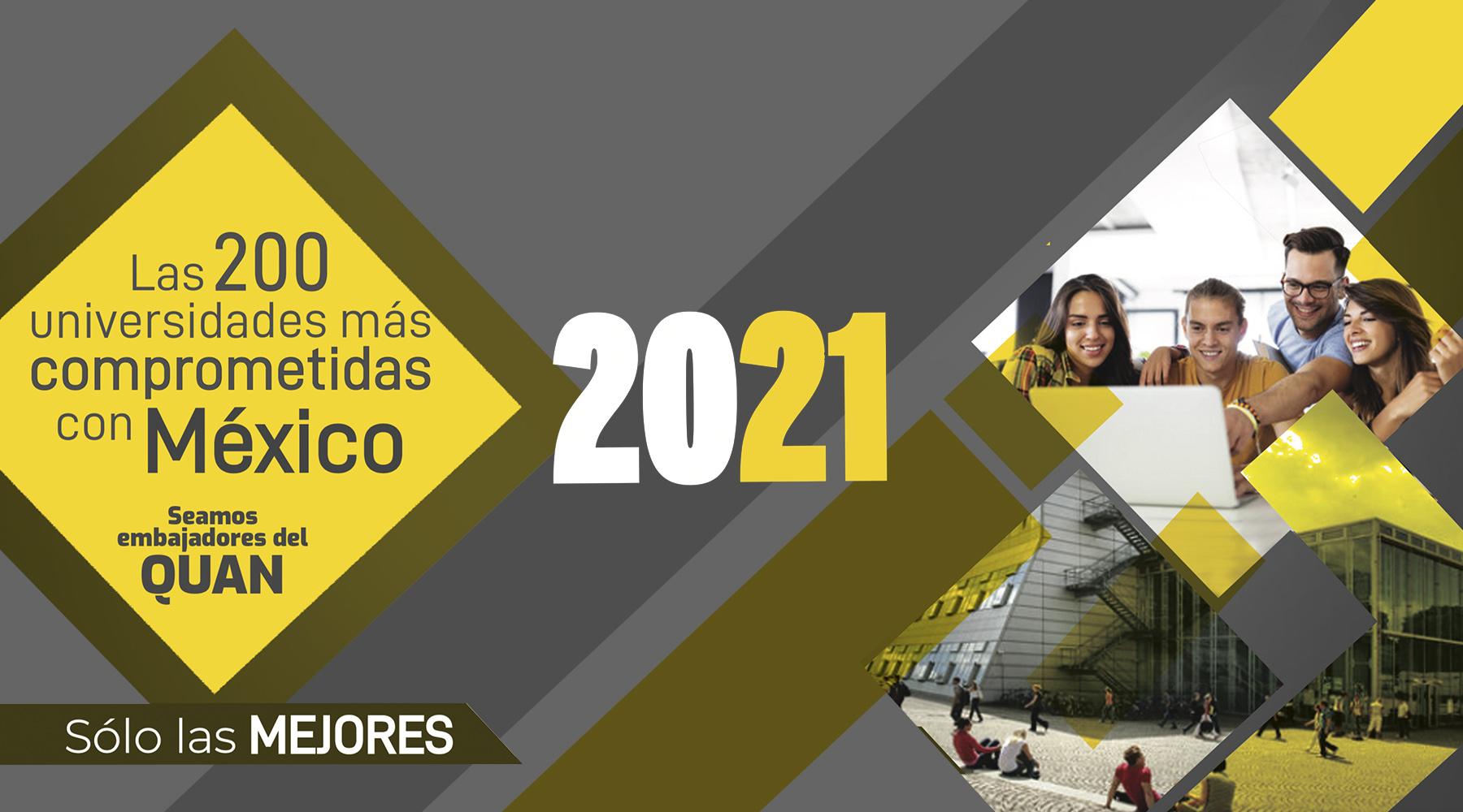 Top Mejores Universidades 2021 - Diamante